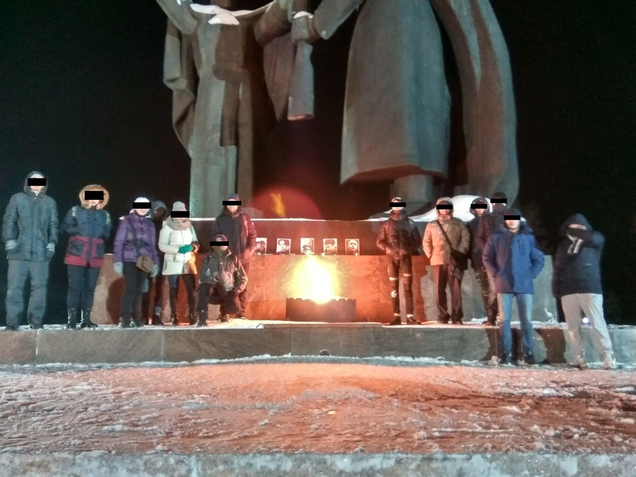 День памяти Маркелова и Бабуровой в Томске