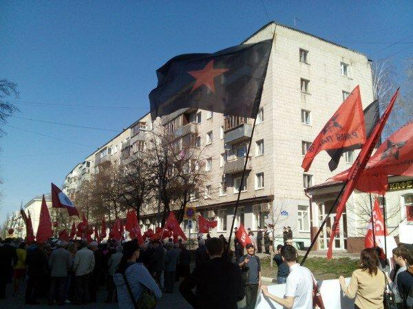 Ульяновск: Первомай в городе Ленина (+видео)