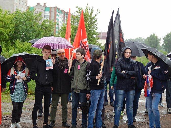 Антикоррупционный митинг в Стерлитамаке