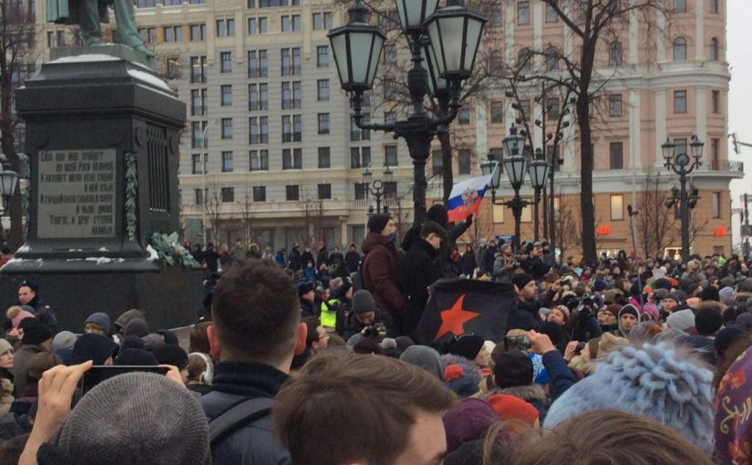 Москва: Избиратель, бастуй!