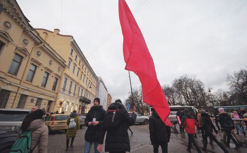 Забастовка избирателей в Питере