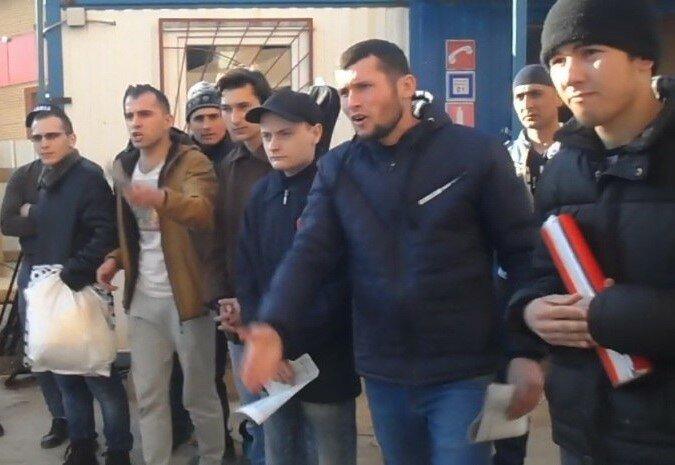 Подольск: Рабочие штурмуют «Мегаполис» (+видео)