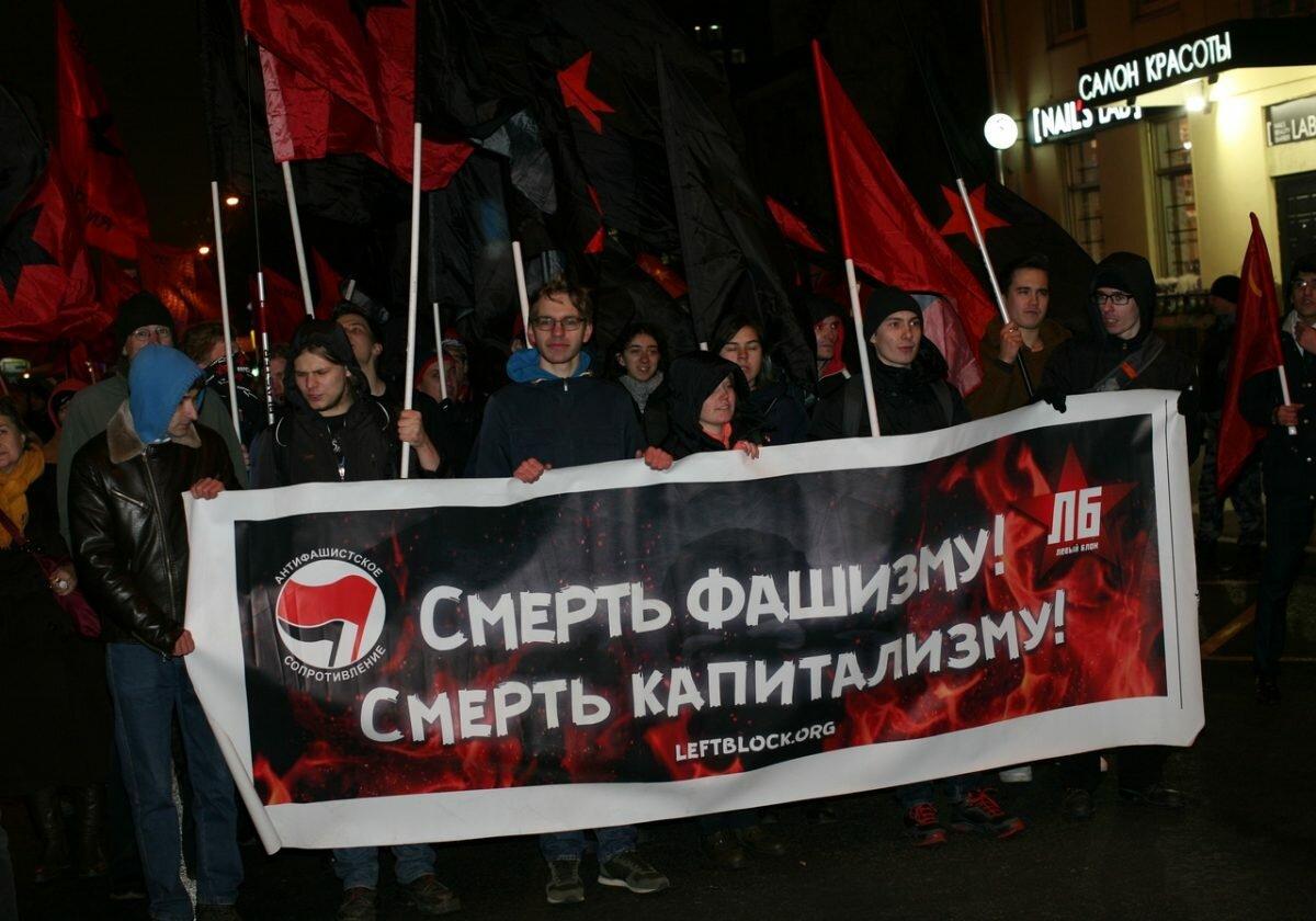 Москва: Митинги кончатся — борьба продолжится!