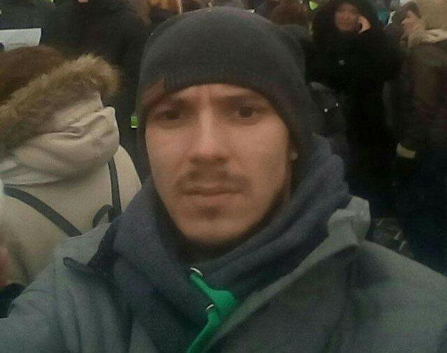 Москва: Активист Левого Блока получил перелом при задержании полицией
