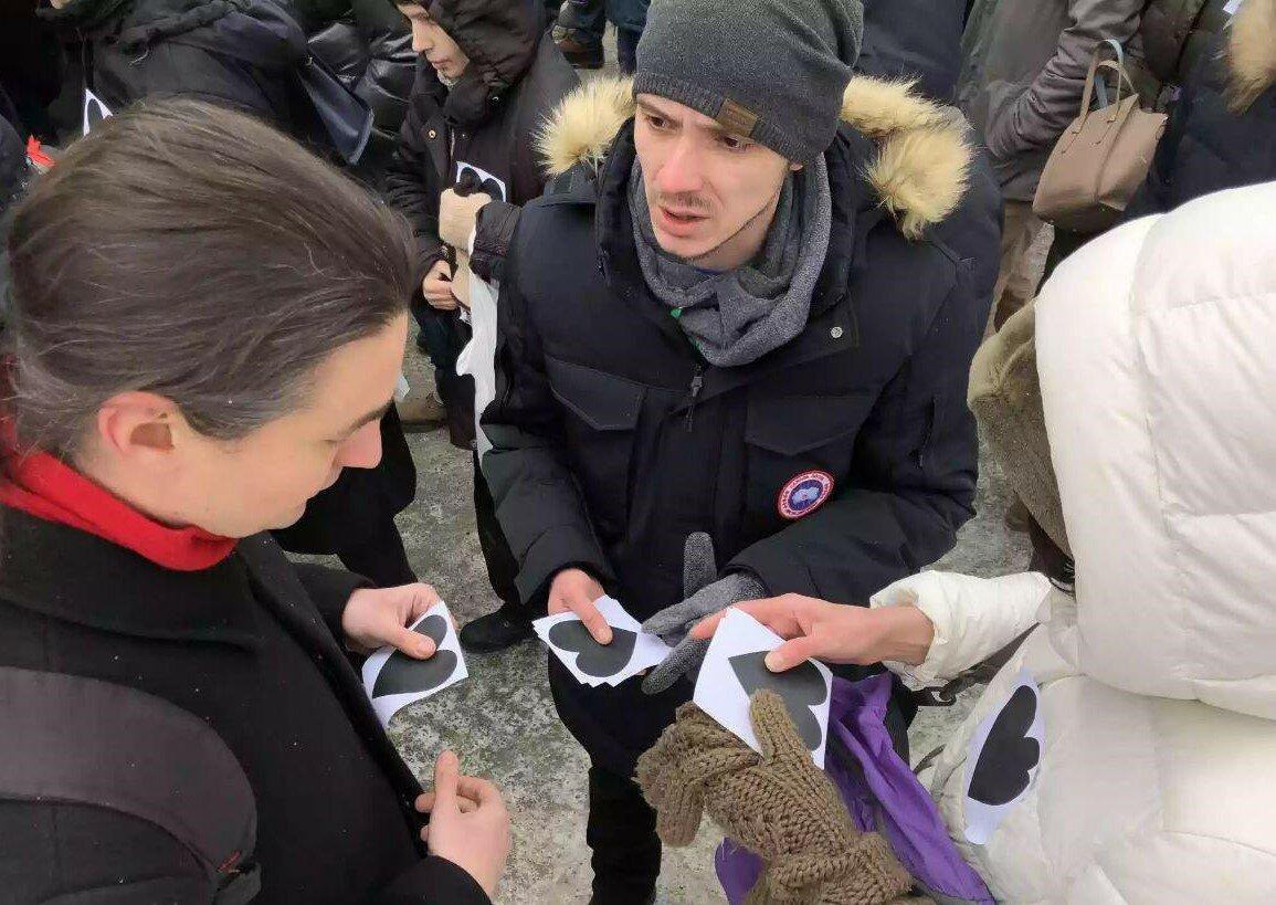 Москва: Левый Блок на Марше материнскогогнева