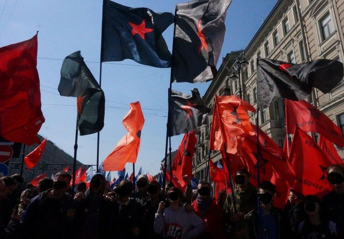 Питер: Первомай не праздник, а день протеста!