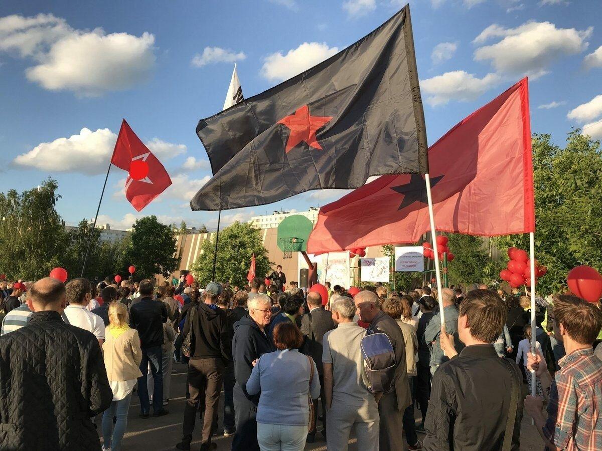 Москва: Левый Блок посетил сход жителей в Люблино