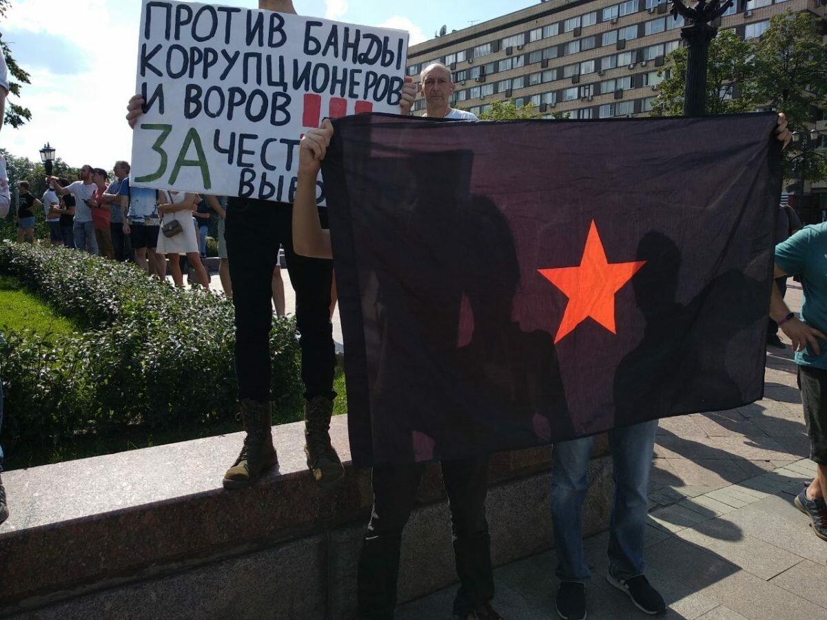 Москва: «разгонная суббота» за честные выборы