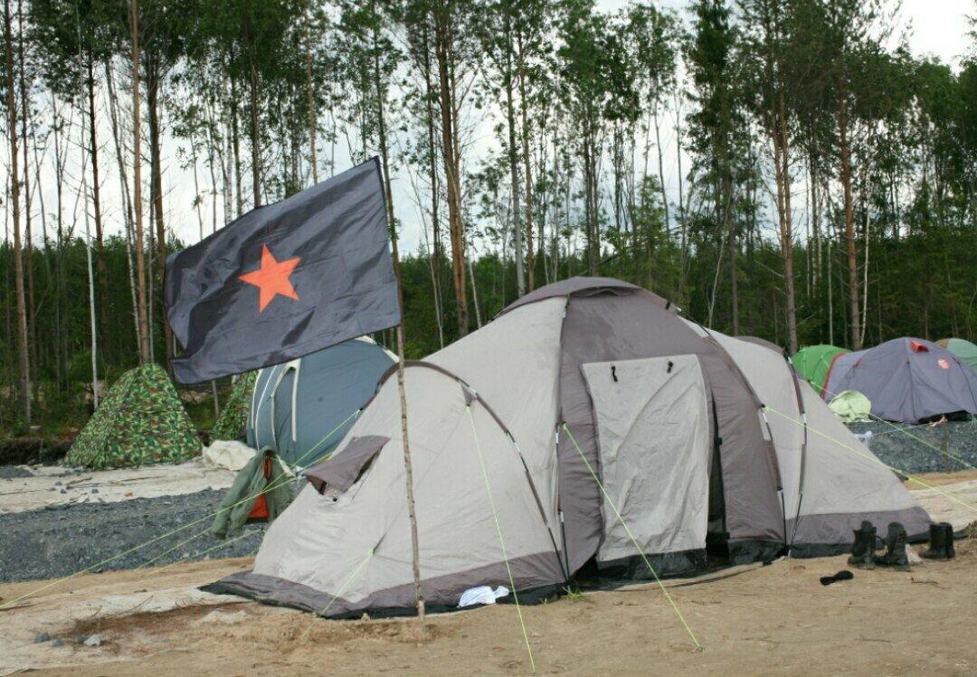 Слухи, будни и устройство лагеря на Шиесе